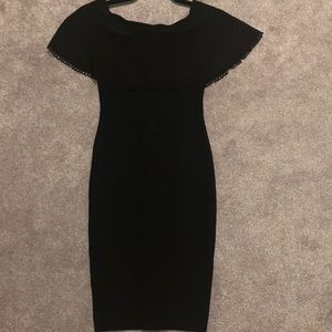 Brand new black spandex dress